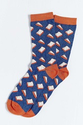 Urban Outfitters Pbj Sock Blue