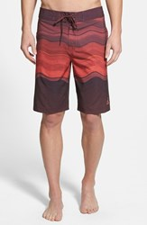 Men's Prana 'Sediment' Stretch Board Shorts Raisin