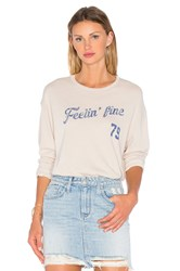 Project Social T Feelin' Fine 79 Long Sleeve Tee Beige