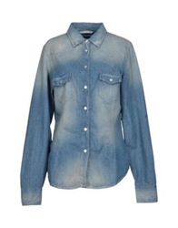 Novemb3r Denim Shirts Blue