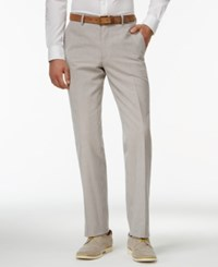 Bar Iii Blue Vintage Seersucker Slim Fit Pants Only At Macy's