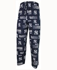 Concepts Sport Men's New York Yankees Sweep Sleep Pants Navy