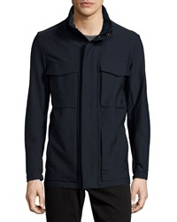 Theory Carick Nylon Field Jacket Black