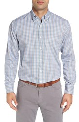 Peter Millar Men's 'Holt' Regular Fit Tattersall Sport Shirt