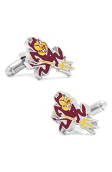Men's Cufflinks Inc. 'Arizona State Sun Devils' Cuff Links Red