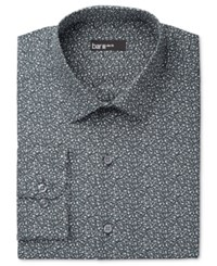 Bar Iii Men's Slim Fit Night Sky Floral Dress Shirt Only At Macy's