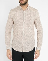Ikks White Shirt With Multi Coloured Dots Print