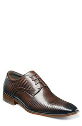 Stacy Adams Men's Kallan Plain Toe Derby Brown