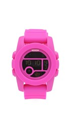 Nixon The Unit 40 Watch Pink