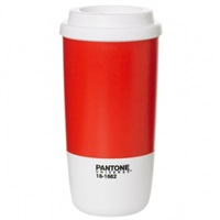 Room Copenhagen Pantone Thermo Cup Flame Scarlet Pantone Universe Coffee And Tea Tableware Finnish Design Shop