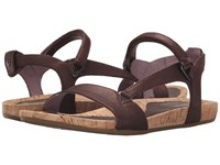Teva Capri Universal Pearlized Chocolate Women's Sandals Brown