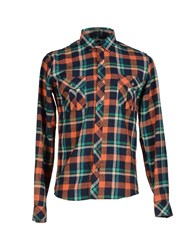 Solid Shirts Shirts Men Dark Blue