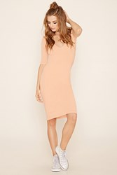 Forever 21 Ruched Back Bodycon Dress