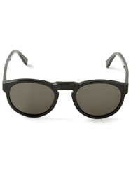 Retro Super Future 'Paloma' Sunglasses Black