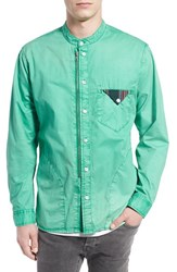 Men's Prps 'Cotinga' Extra Trim Fit Band Collar Woven Shirt