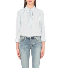 Free People Modern Muse Woven Blouse White