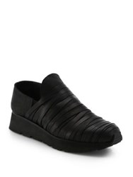 Ld Tuttle Moss Leather Slip On Wedge Sneakers