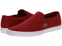 Lacoste Gazon Sport Wd Red Red Men's Shoes