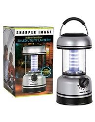 Sharper Image Black Series Lantern 20 Led Light No Color