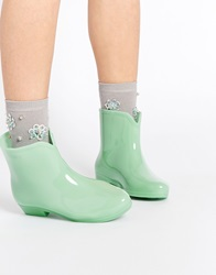Asos Galaxy Glow In The Dark Wellies Mint