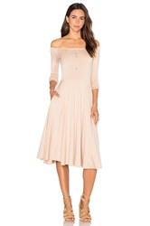 Rachel Pally Long Sleeve Lovely Dress Beige