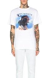 Off White Indian Tee In White