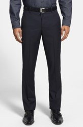Men's Bonobos 'Foundation' Slim Fit Wool Trousers Navy