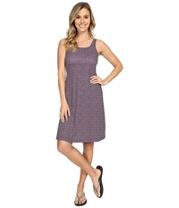 Columbia Freezer Iii Dress Collegiate Navy Mosaic Dot Women's Dress