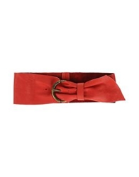 Miss Sixty Belts Red