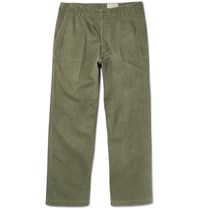 Chimala Cotton Trousers Green