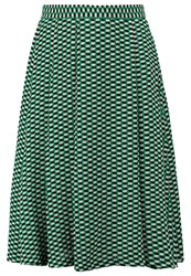 Louche Jazzi Aline Skirt Green Black