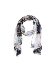 Annarita N. Oblong Scarves White