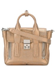 3.1 Phillip Lim Mini 'Pashli' Satchel Nude And Neutrals