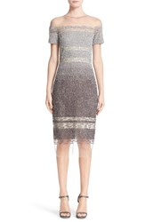 Pamella Roland Women's Signature Sequin Cap Sleeve Cocktail Dress