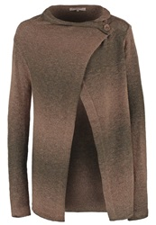 Anna Field Cardigan Taupe Brown