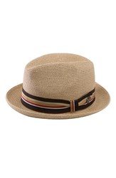 Men's Bailey 'Salem' Straw Hat White Natural