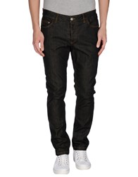 Alessandro Dell'acqua Denim Denim Trousers Men Black