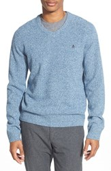 Men's Original Penguin V Neck Lambswool Sweater Infinity