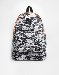 New Balance Mellow Backpack In Digital Camo Black