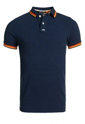 Superdry Surf Edition Pique Polo Shirt Navy