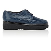 Robert Clergerie Women's Fadio Platform Oxfords Blue