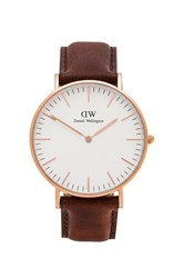 Daniel Wellington Classic St. Andrews Lady 36Mm Brown
