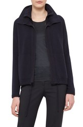 Women's Akris Double Stand Collar Cashmere Cardigan