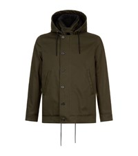 Sandro Deck Jacket Male Green