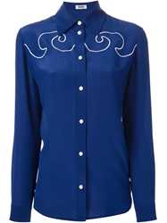 Moschino Cheap And Chic Classic Shirt Blue