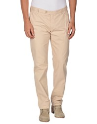 Trussardi Jeans Trousers Casual Trousers Men Beige