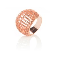 Latelita London Comb Ring Rosegold Champagne Rose Gold Pink Purple