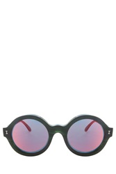 Illesteva Frieda Eco Sunglasses Green