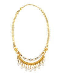 Jose And Maria Barrera Fringe Collar Necklace