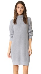 Lovers Friends Christina Sweater Dress Light Grey